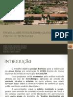 Análise Bioclimática _ Apresentaçao