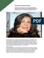 El Pensamiento Filoso_fico de Susan Sontag