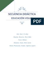 Secuencia Artes Visuales ESCOBAR