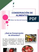 Conservación de Los Alim.