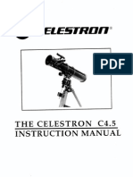 Celestron C4.5 owner manual