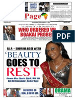 Wednesday, September 17, 2014 Edition
