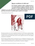Experimentos Con Indígenas Canadienses Al Estilo Nazi