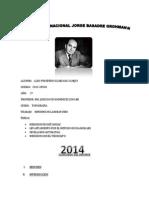 Tercer Informe de Topografia Lentamiento