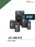 GE AF300 P11 INVERTER