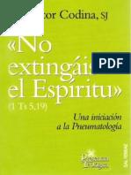 134073690 No Extingais El Espiritu Victor Codina