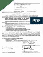 Search Warrant Affidavit Unsealed