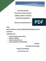 Laboratorio II de Bioquimica