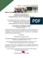 Einladung Zur Podiumsdiskussion