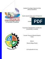 Organismos administrativos