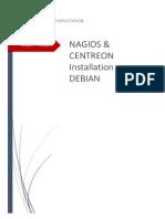1 - Installation Manuelle de Nagios Centreon - Debian