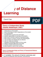 theory of distance learning-2