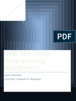 CME362 Programming Assignment (1)