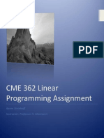 CME362 Programming Assignment