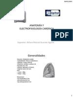 Anatomía y Electrofisiología Cardíaca