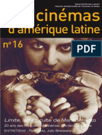 Cinemas D'Amerique Latine n16 2008