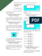 Physics question set