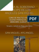 Novena a San Miguel