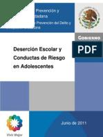 A7_Deserción Escolar y Conductas de Riesgo