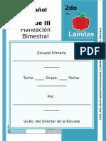 2do Grado - Bloque 3 - Español