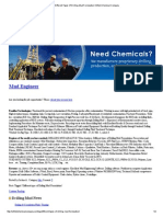 Different Types of Drilling Mud Formulation Oilfield Chemical Company