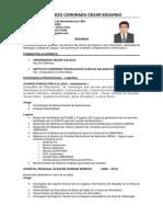 Curriculum Cesar Balarezo Lima