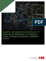 Sistemas de Distribución y Protección Contra Contactos Indirectos y Defectos a Tierra _ Cuaderno de Aplicaciones Técnicas Nº 3 _ ABB