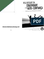Impressão - Zine - Pelo Resgate Da Criatividade e Da Autoconfiança Impressão