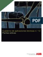 Plantas Eólicas _ Cuaderno de Aplicaciones Técnicas Nº 12 _ ABB