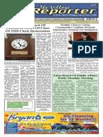 The Village Reporter - September 17th, 2014