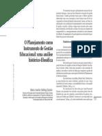 Planejamento Como Instrumento de Gestao Educacional Uma Analise Historica e Filosofica