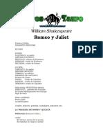 Shakespeare, William - Romeo y Julieta