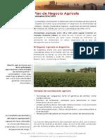 Plan de Negocio Agrícola 2014-2015 - Fideicomiso GestionAr I