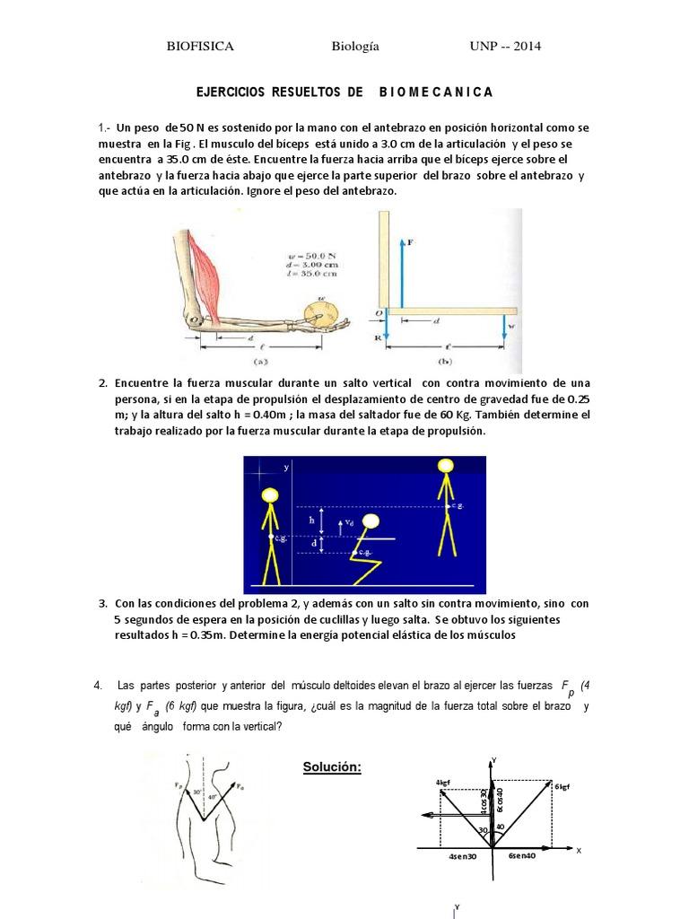 Ejercicios Resueltos de Biomecanica 1012