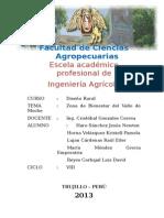 Diseño de Una Instalación Pecuaria en El Valle de Moche (Vacunos de Carne)- Resumen