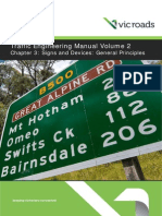 Traffic Engineering Manual Volume 2 Chapter 3 Signs and Devices General Principles June2014 Ed 4