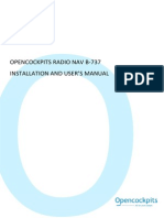 Installation and User's Manual Nav b737