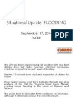 CDRRMC Typhoon LuiCDRRMC Typhoon Luis Flood Update #2s Flood Update #2