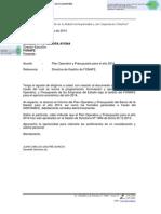 Plan Operativo Presupuesto 2014