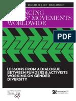 Advancing Trans* Movements Worldwide