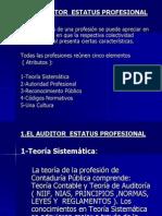 1. t a. El Auditor Estatus Profesional