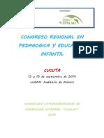 CONGRESO en Educacion Infantil Cucuta