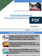 Penataran Pbs Untuk Pgb - 24 Mac 2014
