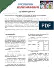 Relatório sobre equilíbrio químico