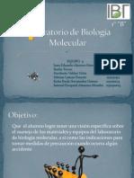 Equipo4 1 B IBT Laboratorio de Biología Molecular Presentación