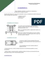 Acumuladores - Gas II