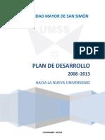 Plan de Desarrollo UMSS