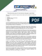 CBH - Condiciones Para La Existencia de Gas y Petroleo [Spanish]