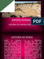 Imperio Romano Diápositivas