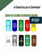 Código Colores Residuos Solidos